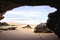 South Africa - Sedgefield Beachcave